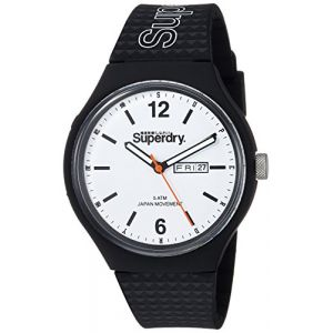 Superdry Montre Urban Day Date Homme Blanc Syg179WB