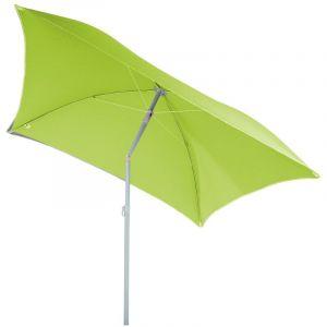 Hesperide Parasol de plage carré Hélenie - L. 180 x l. 180 cm - Vert anis
