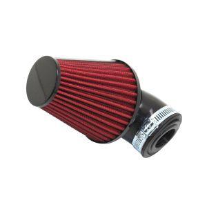 REPLAY Filtre à Air Tun'R D28-35 Filter Xl Noir/Rouge Coude 30 Orientable