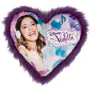 Coussin coeur Violetta
