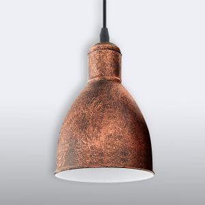 Eglo PRIDDY-Suspension Métal Ø15,5cm Cuivre