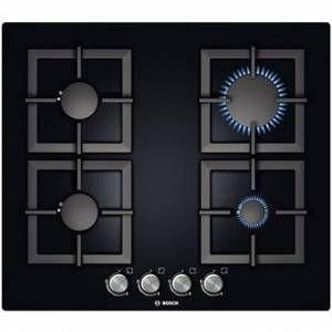 Bosch PPP6A6B20 - Table de cuisson gaz 4 foyers