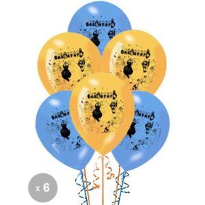 Sidj 6 ballons Barbapapa