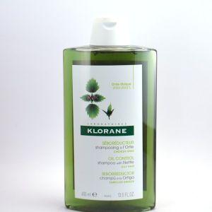 Klorane Tendance Grasse - Shampooing séborégulateur 400ml
