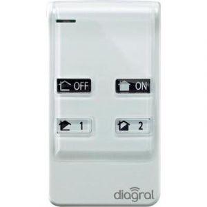 Diagral telecommande 4 fonctions - DIAG41ACK
