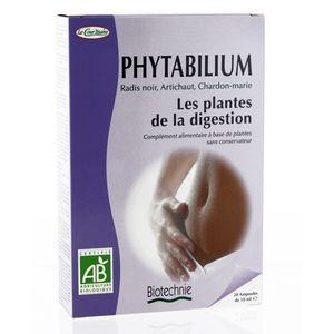 Biotechnie Compléments alimentaires Phytabilium Bio 20 ampoules