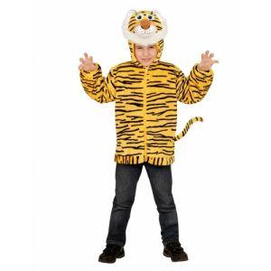 Veste à capuche tigre enfant