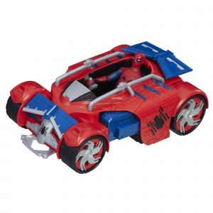 Hasbro Spider-Man Homecoming Figurine 15 cm + véhicule