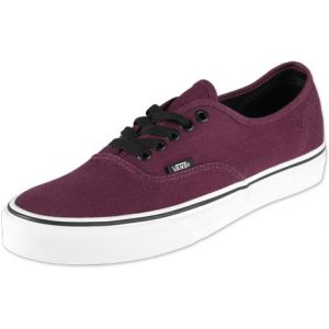 Vans U Authentic - Baskets Basses - Mixte Adulte - Rouge (Port Royale/Black) - 36.5 EU