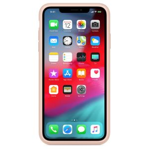 Apple Smart Battery Case Rose des sables iPhone XS Max