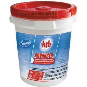 hth Chlore non stabilisé en galets Advanced 9 kg