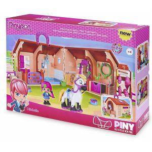 Famosa Pinypon Mini Poupée - Coffret Centre Équestre + 2 Figurines