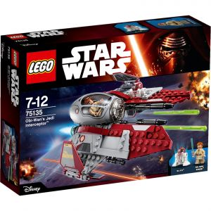 Lego 75135 - Star Wars : Obi-Wan%u2019s Jedi Interceptor
