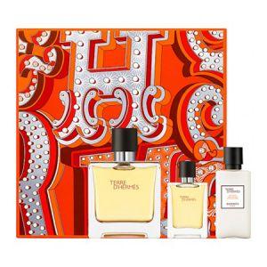 Hermès Terre d'Hermès - Coffret eau de parfum, miniature et après-rasage