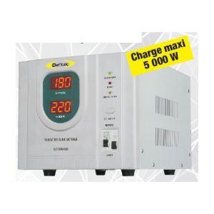 Defitec Stabilisateur de courant technologie Inverter 5000W - DEFI'STAB 5000