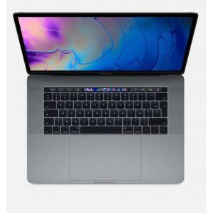 "Apple Macbook Pro 15.4"" Touch Bar 256 Go SSD 16 Go RAM Intel Core i7 hexacoeur à 2,6 GHz Gris sidéral (MV902FN/A)"
