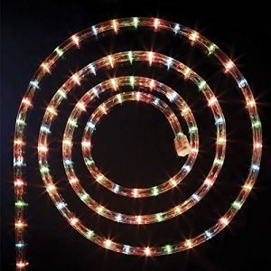 Guirlande lumineuse extérieure tube LED 8 fonctions