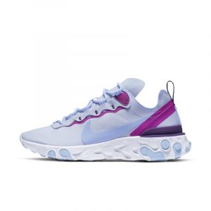 Nike Chaussures casual React Element 55 Violet - Taille 40
