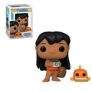 Funko Figurine Pop Disney Lilo & Stitch : Lilo avec Pudge [1047]