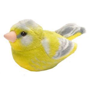 Wild Republic Verdier peluche sonore oiseau chanteur