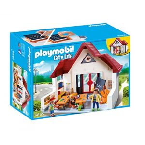 Ecole playmobil comparer 18 offres for Salle a manger playmobil city life