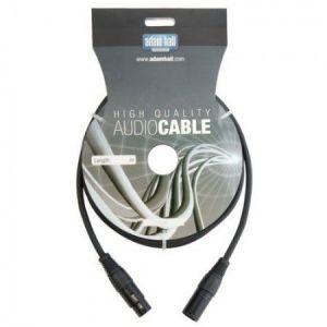 Adam Hall Câble microphone DMX XLR mâle vers femelle XLR mâle 30 m