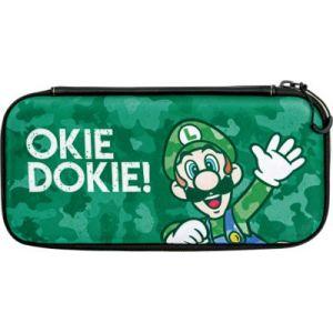 PDP Sacoche Housse case pour Nintendo Switch - Luigi Camo Edition