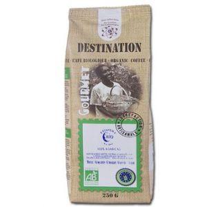 Destination Café moulu bio décafeiné n°9 100% Arabica 250 gr