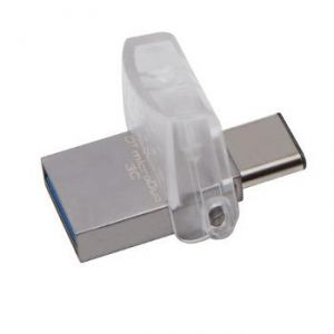 Kingston DTDUO3C/16GB - Clé USB 3.0 et MicroUSB DataTraveler 16 Go