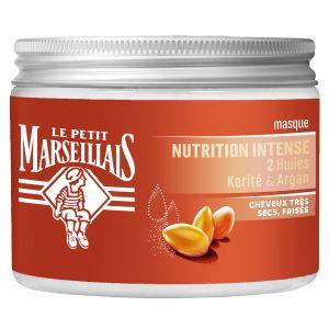 Le Petit Marseillais Masque Nutrition Intense 2 huiles Karité & Argan