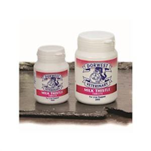 Dorwest Comprimés au chardon argenté : Protège le foie des chiens et chats