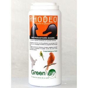 GreenVet Rhodeo - Poudre anti-parasitaire aviaire 125 gr