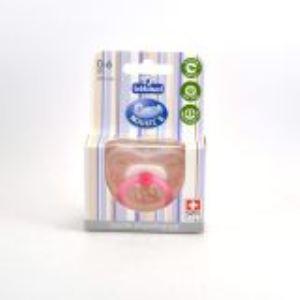 Bébisol 4703750 - Sucette physiologique Noukie's en silicone modèle Fille (0-6 mois)
