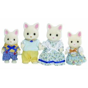 Epoch Sylvanian Families 3143 - Famille chat soie