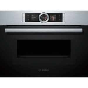 Bosch CMG676BS1 - Four pyrolyse combiné micro-ondes