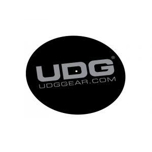 UDG Ultimate Slipmat Set Black/Silver (la paire)