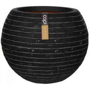 Capi Pot à fleurs Nature Row Rond 62 x 48 cm Anthracite PKRWZ271