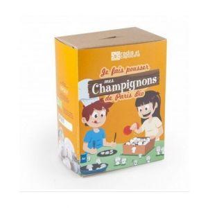 Radis et capucine Kit de culture enfants champignons de Paris bio