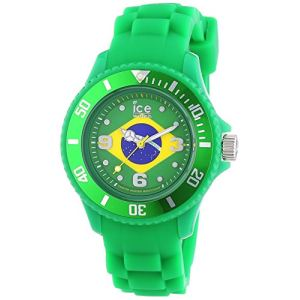 Ice Watch Ice-World Brésil Small - Montre mixte avec bracelet en silicone