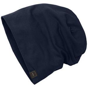 Masterdis MSTRDS Jersey Beanie, Bonnets en Mailles Homme, Blau (Navy 1152,4565), Taille Unique
