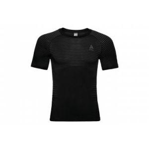 Odlo SUW Top Crew Neck S/S Performance Light - Sous-vêtement synthétique taille S, noir