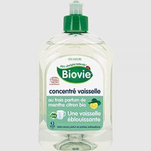 Léa Nature Biovie concentré vaisselle parfum menthe citron bio