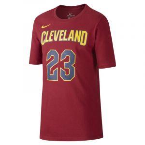 Nike Tee-shirt de basketball Icon NBA Cavaliers (James) pour Garçon plus âgé - Rouge - Taille M - Male