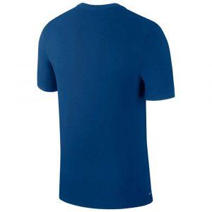 Nike Maillot manches courtes dri fit training bleu homme s