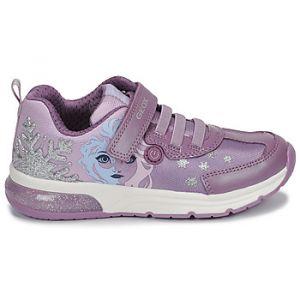 Geox Baskets basses enfant JR SPACECLUB GIRL Violet - Taille 32