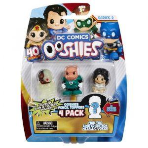 Vivid DC Comics Ooshies Pack de 4 - Mix 2