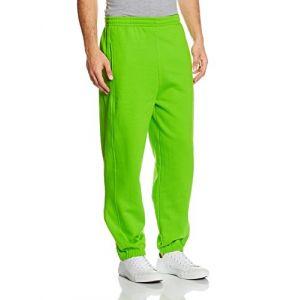 Urban classics Bekleidung Sweatpants - Pantalon De Sport Homme, Vert (Limegreen) - Small (Taille fabricant: Small)