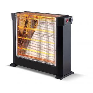 Purline Heaty2760 - Chauffage d'appoint à tube infrarouge quartz 2200 watts