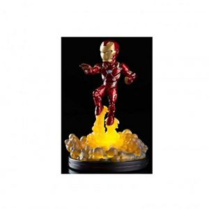 Quantum Mechanix Statuette Q-Fig Captain America Civil War - Iron Man lumineux