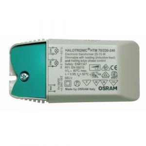 Osram HTM 105 - Transformateur Halotronic Mouse - pour halogènes ou LEDs 12 Volts - Puissance 35 à 105 Watts
